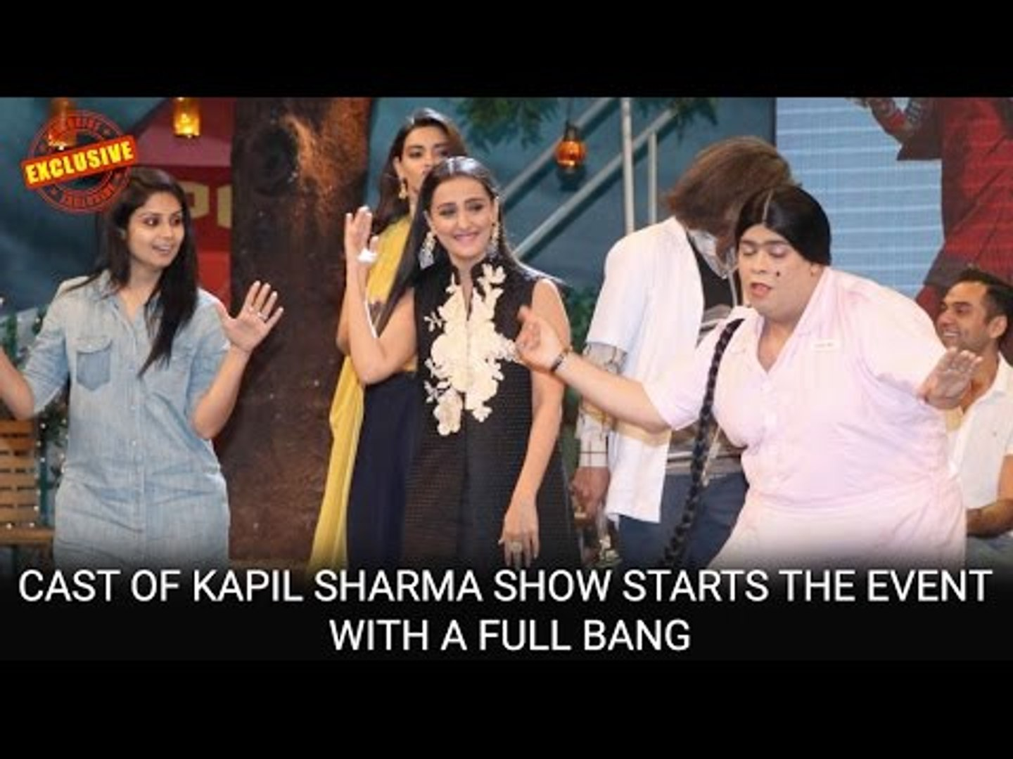 Cast of Kapil Sharma Show starts the event with a full bang | Happy Bhag  Jayegi | Jimmy Shergill
