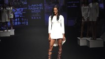 PV Sindhu stuns in white as she walks the ramp at LFW