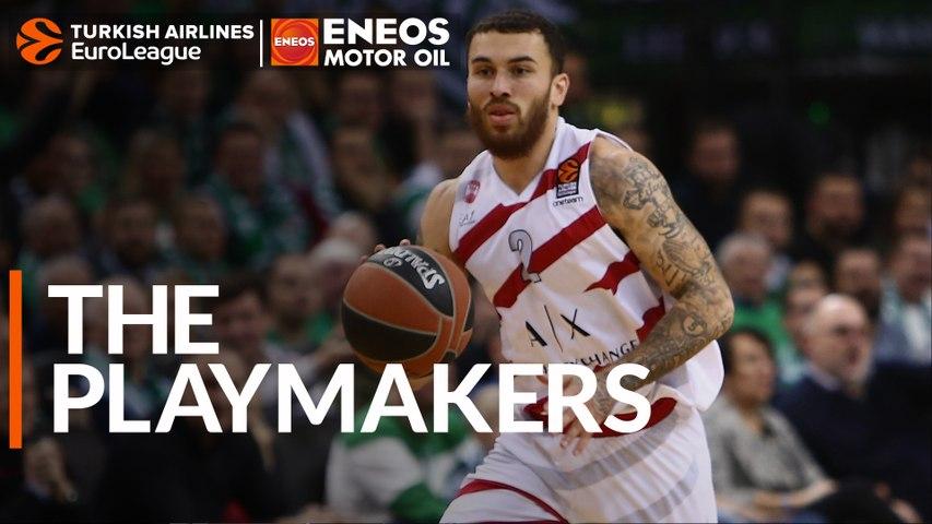 The ENEOS Plyamaker: Mike James, AX Armani Exchange Olimpia Milan