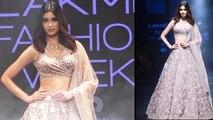 Lakme Fashion Week: Diana Penty walks the ramp for Mishru show |FilmiBeat