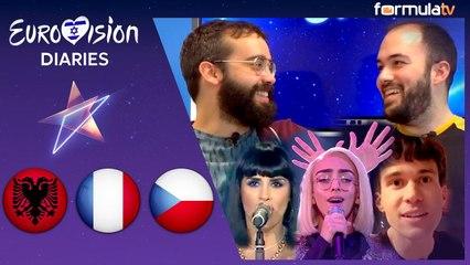 Eurovisión Diaries: Reacción a las canciones de Albania, Francia y República Checa para Eurovisión 2019