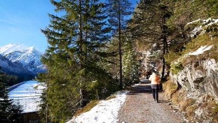 Winterwanderung im Lechtal: Sonnenseitenrunde