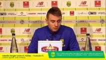 Replay  : Valentin Rongier en conférence de presse d'avant-match
