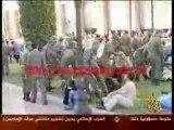Maroc repression policières contre les diplomés chômeurs