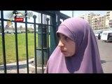 بنات مصر يشاركن فى حملة وطن نظيف