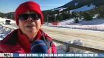 Mont Ventoux : la station du Mont Serein ouvre ses portes