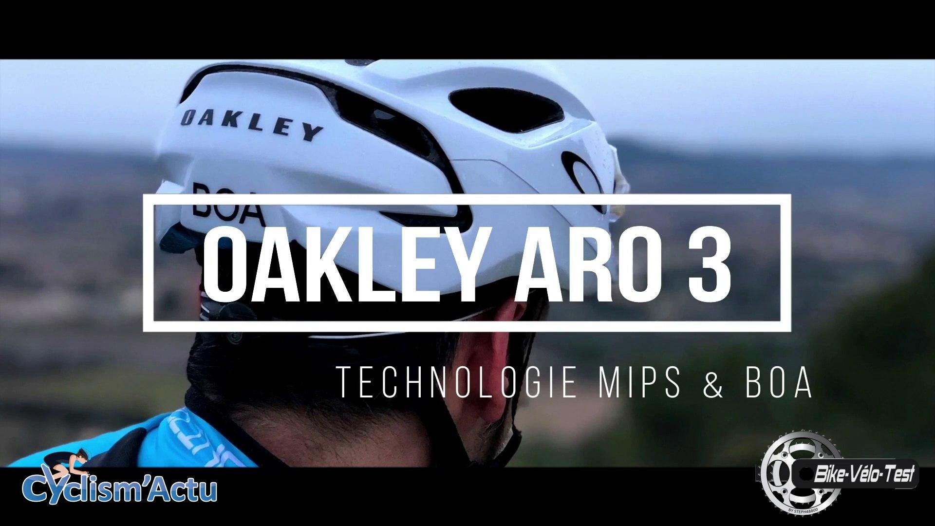 Bike Vélo Test - Cyclism'Actu a testé le Oakley ARO 3 Boa