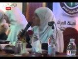 الدكتورة عزة الجرف في ندوة موسعة بطنطا