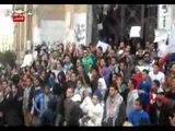 مسيرة 6 ابريل تتجه من نيابة عابدين إلى دار القضاء