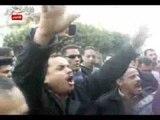 اضراب بقسم أول طنطا عقب إعتداء ضابط على أمين شرطة
