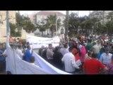 مؤيدي السيسي يحتشدون بالقائد إبراهيم في الإسكندرية
