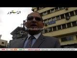 نقابة وقفة احتجاجية على سلالم نقابة المحاميين