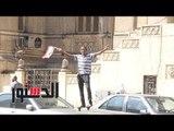 الدستور | بائعو الأعلام يغزون شوارع القاهرة قبل ساعات من مباراة الحسم