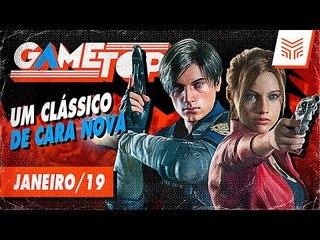 RESIDENT EVIL 2: COMO RENOVAR UM CLÁSSICO | Game Top Janeiro/2019