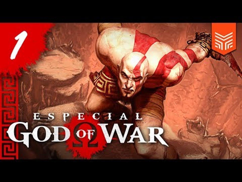 GOD OF WAR: O NASCIMENTO DE KRATOS   Especial God of War #1