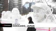 The annual Sapporo snow festival kicks off