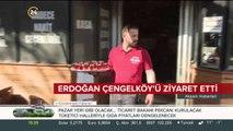 Başkan Erdoğan vatandaşlarla bir araya geldi