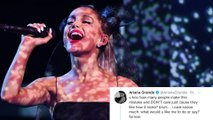 Ariana Grande BLASTS Trolls Accusing Her Of Cultural Appropriation For Japanese '7 Rings' Tattoo!