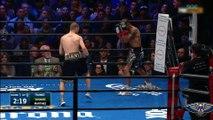SAMMY VASQUEZ  vs  ARON MARTINEZ , 12 ROUNDS WELTERWEIGHT BOXING