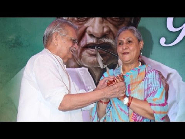 Launch Of Saregama Latest Album 'Gulzar In Conversation With Tagore'   Gulzar, Jaya Bachch
