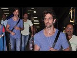 Hrithik Roshan Fly for Singapore Spotted at Mumbai Airport | Bollywood Actor Hrithik Roshan