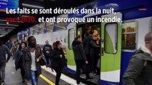 Vincennes : du liquide inflammable jeté sur les voies du RER A