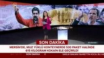 #SONDAKİKA Mersin'de, muz yüklü konteynerde kokain ele geçirildi