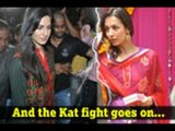 Katrina-Malaika cold war continues