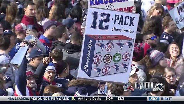 New England Patriots Super Bowl LIII Victory Parade Live Stream (4)