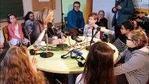 Stiring-Wendel : Patricia Kaas en visite dans l'école de son enfance