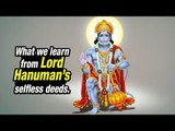 What we learn from Lord Hanuman's selfless deeds   Life Lessons   Artha