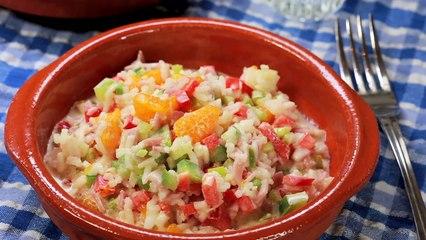 Pirinc Salatasi