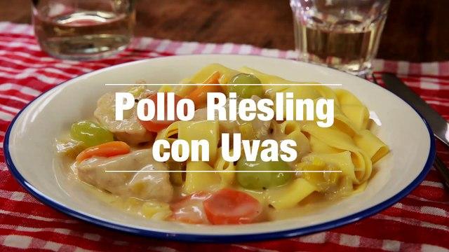 Pollo Riesling Con Uvas