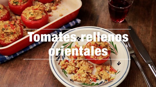 Tomates Rellenos Orientales