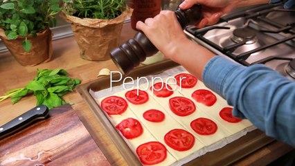 Puff Pastry Tomato Squares