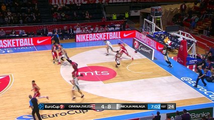 7Days EuroCup Highlights Top 16, Round 6: Zvezda 105-89 Unicaja