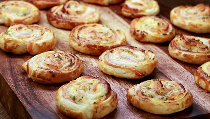 Puff Pastry Salmon Snails