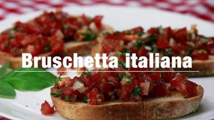 Bruschetta italiana - Das original Rezept