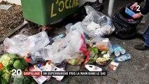 Gaspillage : un supermarché des Landes pris en flagrant délit