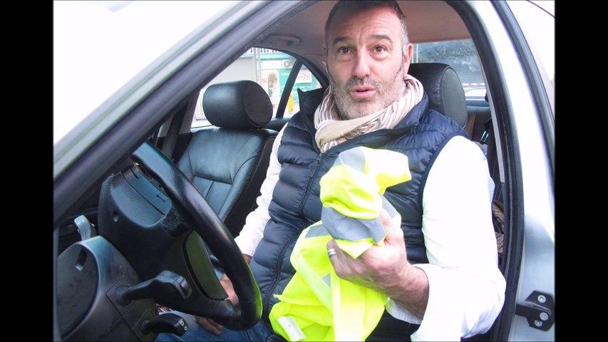 Christophe Chalençon, porte-parole de la liste européenne issue du mouvement des Gilets jaunes