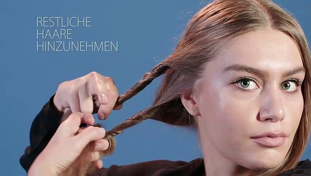 Frisurentrends Beauty-Tutorial: Hochsteckfrisur im Handumdrehen