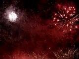 feu artifice cergy 2008 / Symphonie en rouge