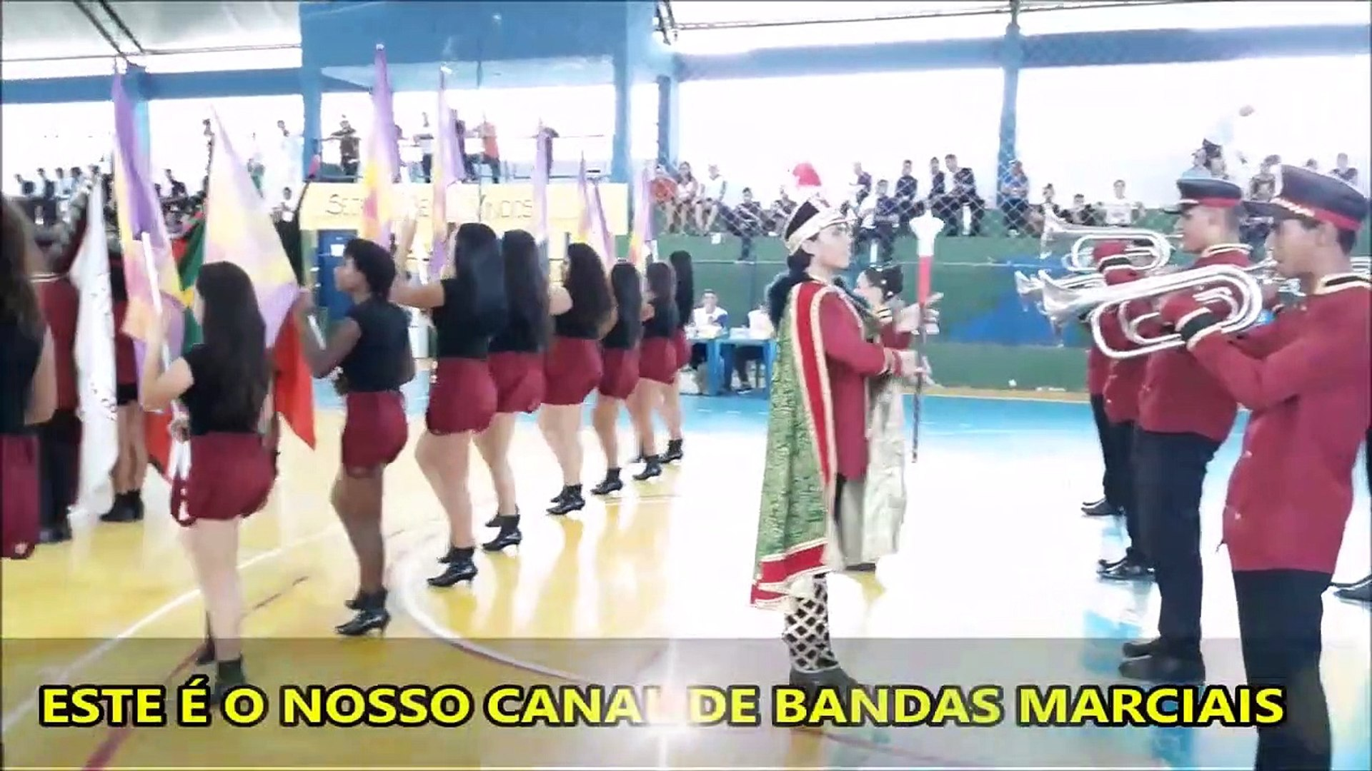 Fanfarra Com Válvula Municipal Professora Violeta Costa De Souza 2018 - VI COPA NACIONAL DE BANDAS E