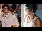 OMG! Kiran Rao Khan Wardrobe Malfunction | Amir Khan's Wife