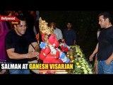 Salman Khan's Grand Ganesh Visarjan   Salman Khan Dancing at Ganpati Visarjan