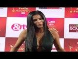 Rakhi Sawant Vs Poonam Pandey Cleavage Show at Indian Telly Awards 2015 Red Carpet