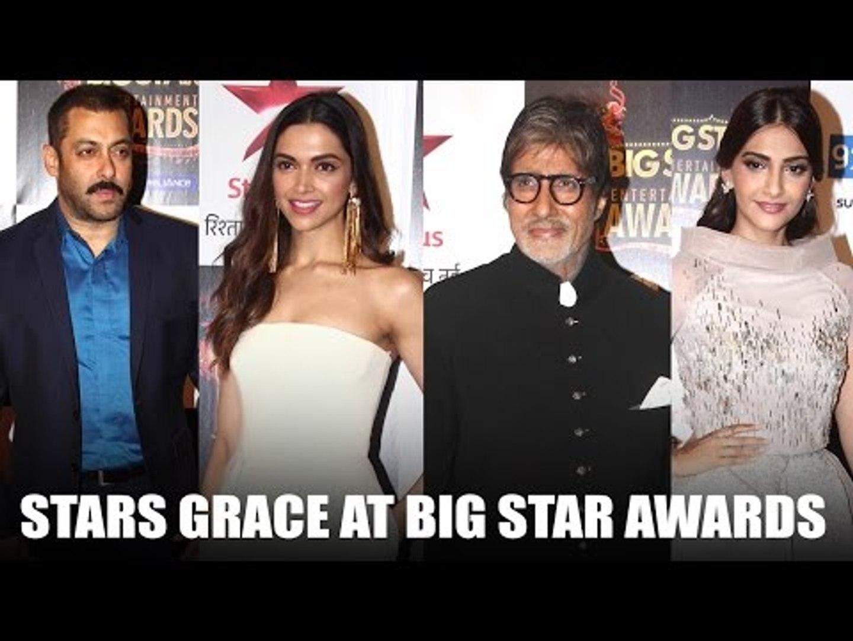 Salman, Sonam, Amitabh at the Big Star Entertainment Awards