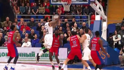 EuroLeague 2018-19 Highlights Regular Season Round 22 video: CSKA 82-78 Madrid