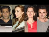 Just Before Salman Khan's Birthday, Salman Khan celebrates Christmas with Iulia Vantur & family!