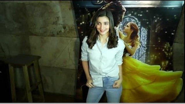 Alia Bhatt Host Screenings Of BEAUTY & THE BEAST Uncut   Highway Movie Compared with Beauty n Beast